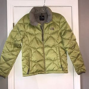 Vintage Women's Med North Face Goose Down Jacket